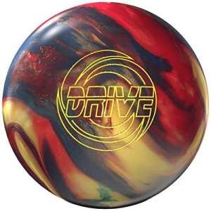 Storm Drive High Performance de bowling Ball Boule de bowling avec beaucoup Arc reaktiv Ligne Signature avec eMax Nettoyeur et serviette microfibre, 13 LBS