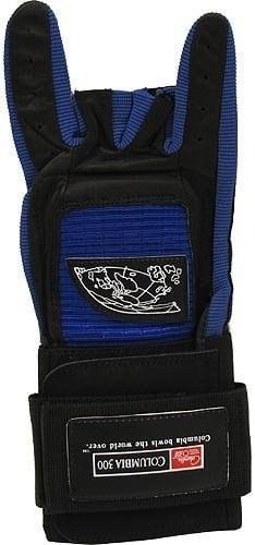 COLUMBIA 300 Pro Gant de bowling avec support de poignet pour droitier Bleu Bleu moyen