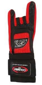 COLUMBIA 300 Pro Gant de bowling avec support de poignet pour gaucher rouge Rouge x-large