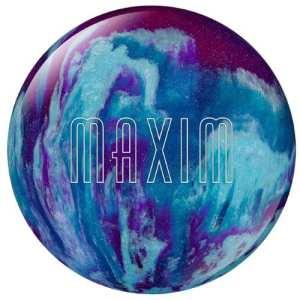 Ebonite Maxim Boule de bowling Violet/bleu roi/argenté 4 kg