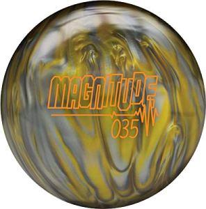 Brunswick Magnitude 035 Boule de Bowling réactive Pearl High Performance avec Noyau Asymetrique, 15 LBS