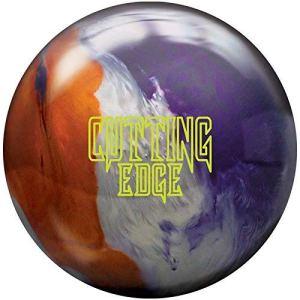 Brunswick Perle de Coupe, Mixte Adulte, Cutting Edge Pearl Bowling Ball- Copper/Titanium/Purple 14lbs, Copper/Titanium/Purple, 14