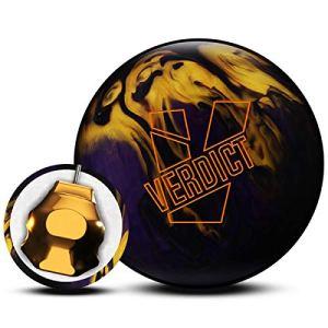 Ebonite Verdict Pearl Boule de Bowling réactive pour débutants et Joueurs de Gymnastique – La Boule de Bowling Peut Faire Un Mouvement de l'arc, 16 LBS