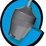 Brunswick True Motion, Surface en uréthane Noir, Boule de Bowling pour débutants et Joueurs de Tournoi – avec nettoyant de Balle EMAX 100 ML, 16 LBS