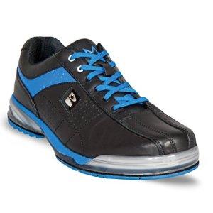 Brunswick Messieurs Chaussures de Bowling de Semelle nshuhe TPU x – Noir – Noir/Bleu,