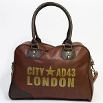 Sac bowling Londres City AD43, marron