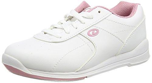 Dexter Raquel III Chaussures de bowling pour femme Blanc/rose, US: 5, UK: 2,5