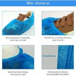 PLUS PO Couvre-Chaussures Couvre-Chaussures Protège-Tapis Protège-Chaussures Couvre-Chaussures Couvre-Chaussures Imperméables Accessoires De Nettoyage Protection du Sol Light Blue
