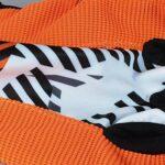 47-B Gants De Bowling Gants sans Doigts Résistants À l'usure Gants en Silicone Anti-dérapants for Le Pouce (Color : Orange, Size : Medium)