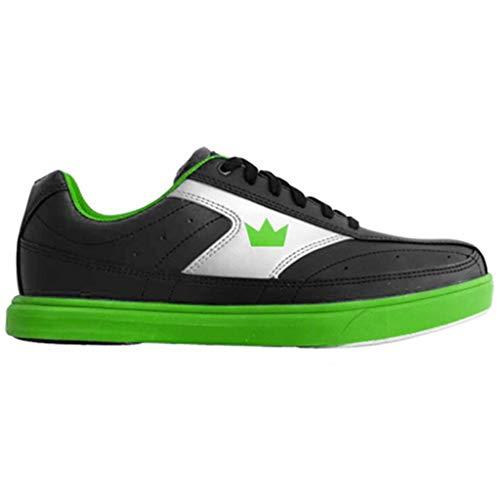 Brunswick Chaussures de Bowling Renegade pour Homme Noir/Vert Fluo 7 M US, Homme, BRU5810610124259, Noir/Vert Fluo, 6.5 UK