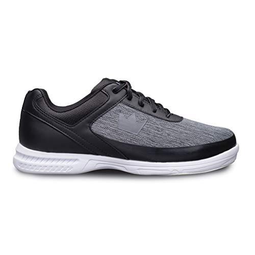 Brunswick Frenzy Chaussures de Bowling statiques pour Homme Noir/Gris 10,5