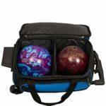 Ebonite Transport 2 Sac de bowling double à roulettes Violet