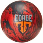 Forge de motivation, mixte adulte, Motiv Forge Bowling Ball- Red/Black Solid 15lbs, Red/Black/Solid, 15