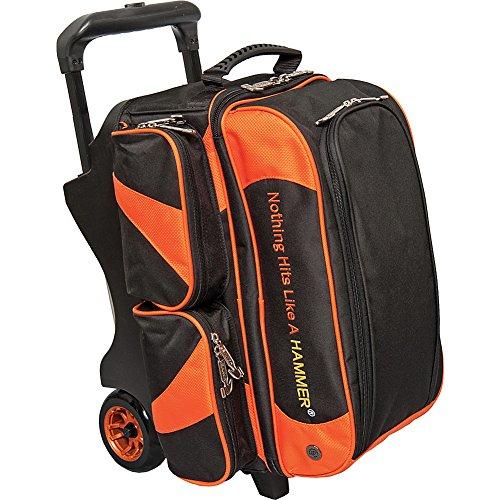 Hammer Premium Sac de bowling à double rouleau Noir/orange