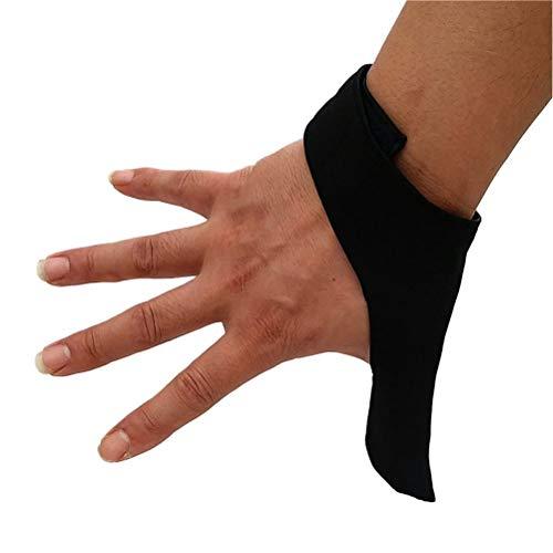 Hbao Unisexe Adulte Respirant élastique Droite/Gauche Doigt poignée Pouce stabilisateur économiseur Gant de Protection pour Les Sports de Boule de Bowling
