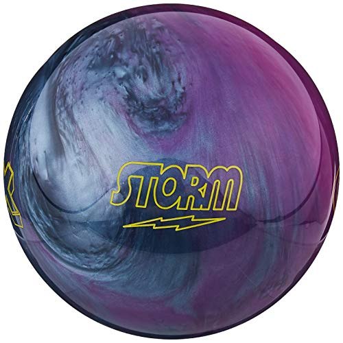 Storm Mix Violet/Argent, Mix Urethane Bowling Ball- Purple/Silver Pearl, Purple/Silver Pearl, 10