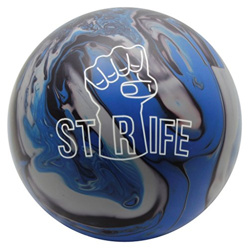 Moxy Strife Boule de bowling, Blue/Black/Gray