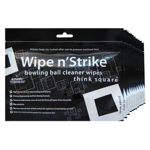 Nettoyeur de Bowling Dr. Wipe Cleaner Wipes Lot de 6