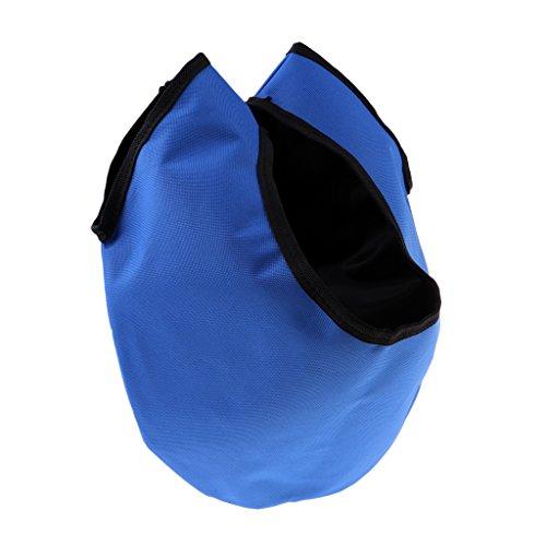 HomeDecTime Nettoyant de Sac de Transport de Boule de Bowling étanche Résistant pour Accessoires de Bowling – Bleu, comme Décrit