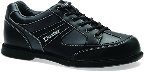 Dexter Pro Am II Chaussures de Bowling pour gaucher, Homme, 2255-1L, Noir/Gris, 11.5