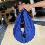 Pochette de Boule de Bowling, Pochette de Haute qualité, Sac de Boule de Bowling Portable, Porte-Balle Portable, pour équipement de Gymnastique Jouets Boule de Bowling Sports(Blue)