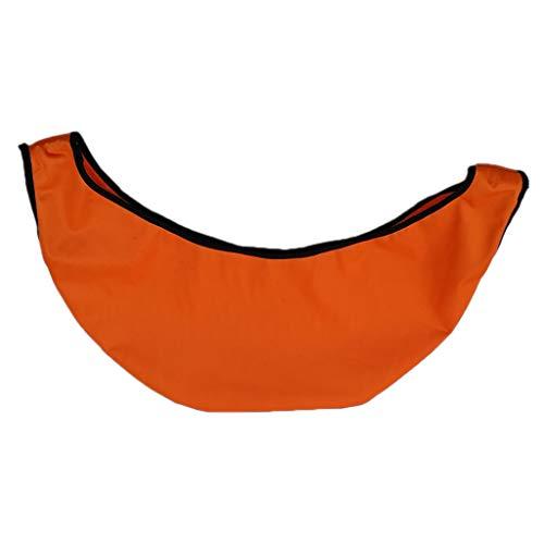 T TOOYFUL Porte-Nettoyeur pour Sac de Boule de Bowling – Orange, 50X23cm