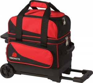 Red Single Ball Rolling Bowling Bag