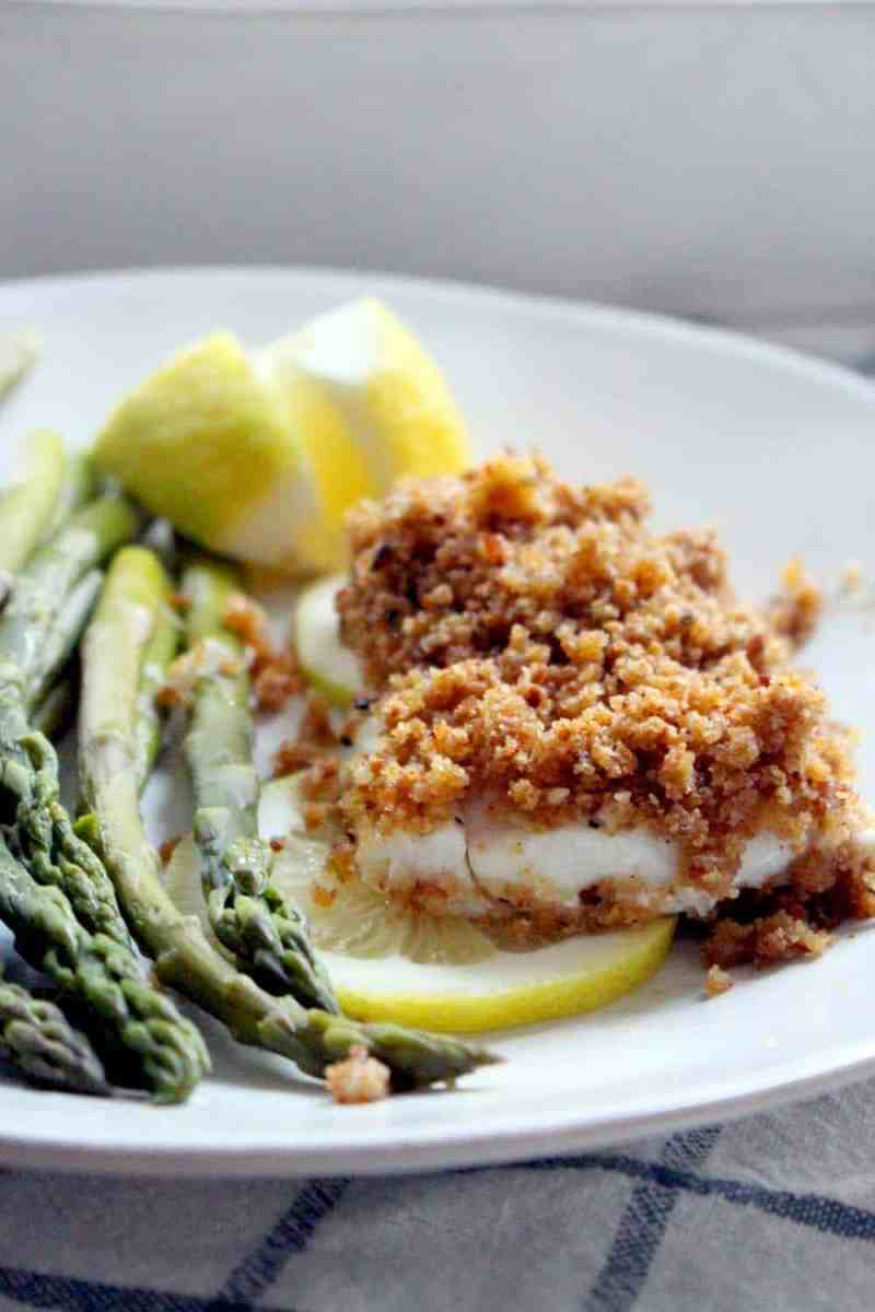 New England Baked Haddock- real food edition