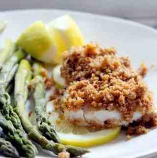 New England Baked Haddock- real food edition