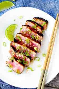 Six-Minute Seared Ahi Tuna Steaks