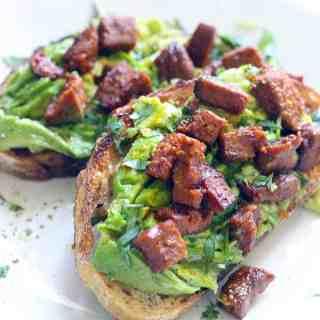 Avocado and Chorizo Toast