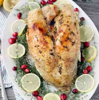 Instant Pot Turkey Breast with Lemon and Thyme