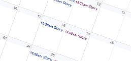 BRPL Buzz Calendar