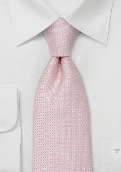 Light Pastel Pink Necktie