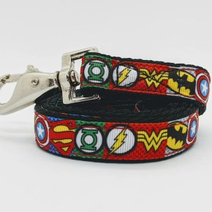 superhero dog lead