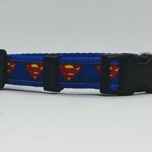 superman superhero collar