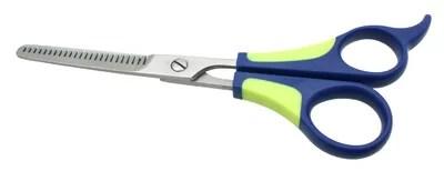 Dog coat thinning scissors