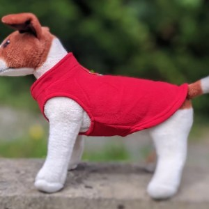 red dog jumper
