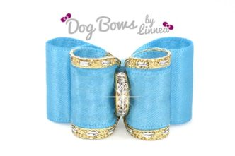 Classic Gold Satin Turquoise