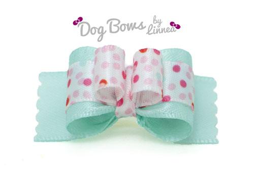 Minty Polka ~ Plush Tie