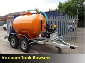Vacuum Tank Bowser