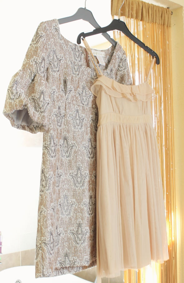 bb dakota silence + noise kimchi blue urban outfitters nude royalty dress robe