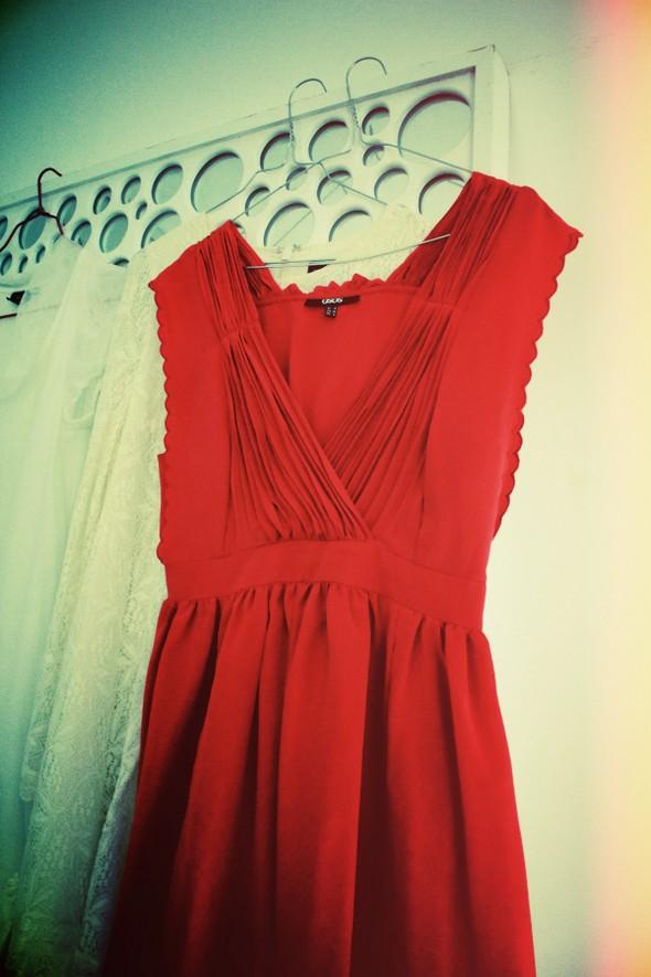 robe dress asos red cherry burgundy