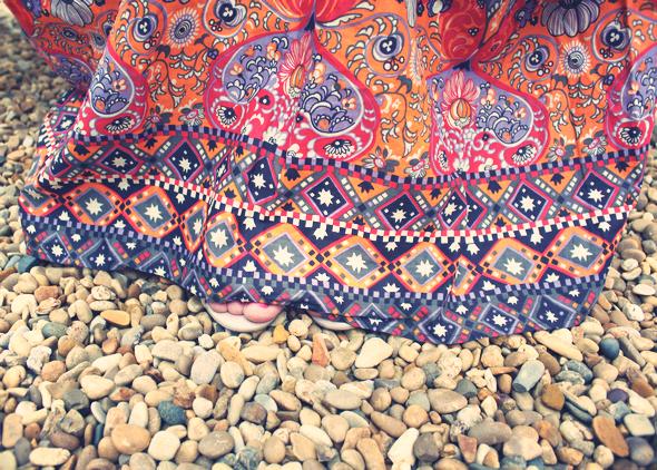 comptoir des cotonniers jupes longue maxi skirt basho
