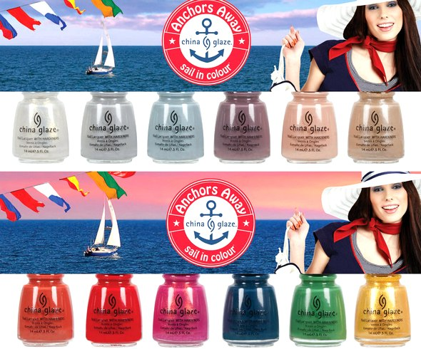 China Glaze Anchors Away Sail In Color