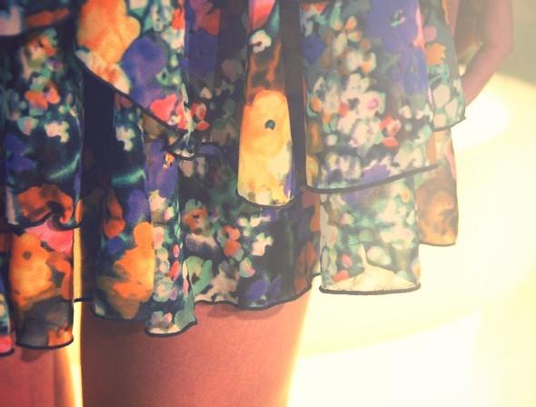 robe h&m garden flowers dress collection