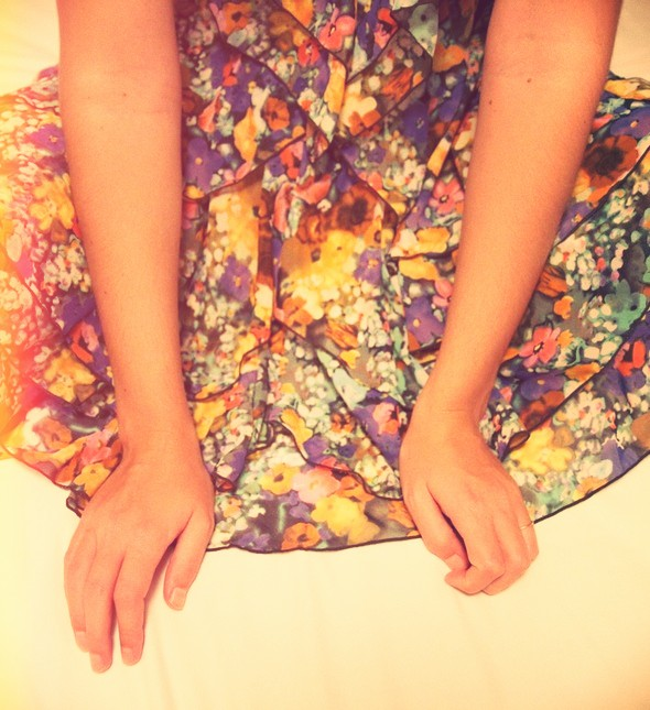 robe à fleurs h&m garden flowers dress collection