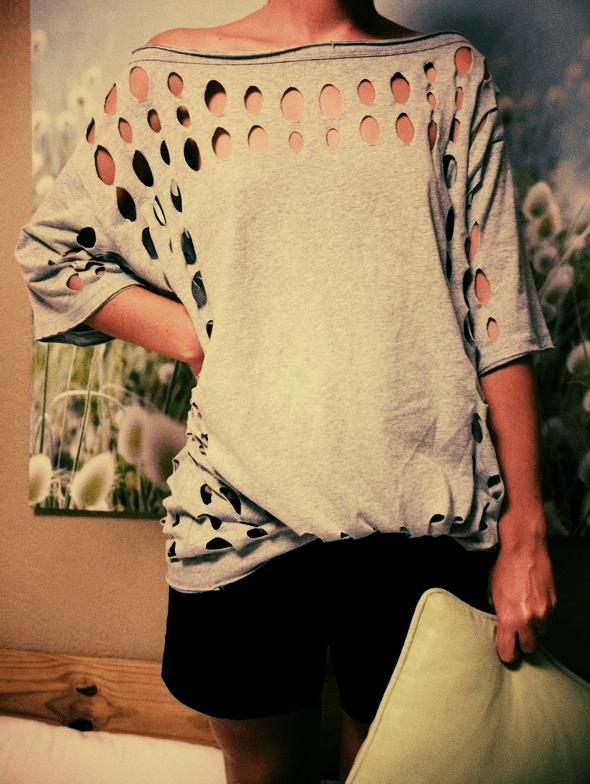 American Retro vintage short naf naf ramones shirt