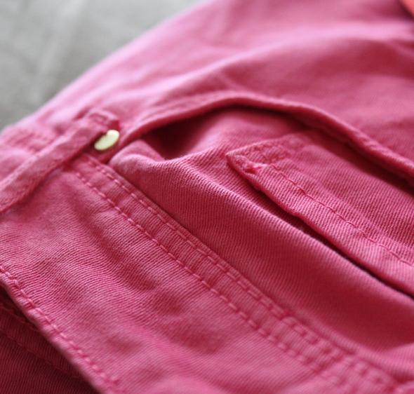 zara pants pink