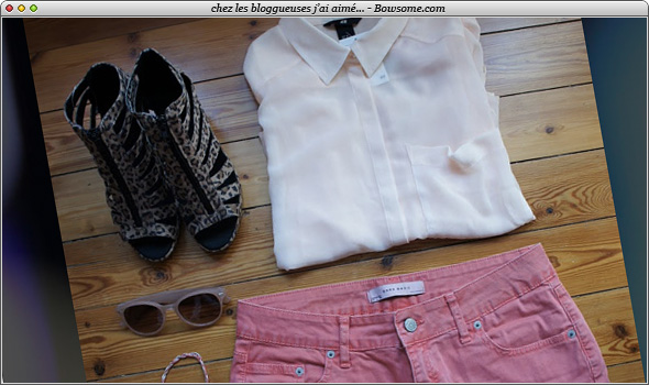 blog mode short corail zara